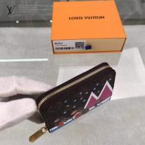 M63831  原版皮Zippy拉鏈零錢包 聖誕節的滑雪熊印花