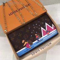 M63857 原版皮 聖誕節系列  Pochette Weekend手袋