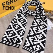FENDI 男士冬季精品 針織羊毛圍巾 規格:180x30cm