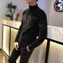最新科技型面料!雙面絲絨高領打底衫!