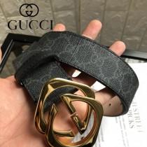 GUCCI皮帶-01-02  古馳原單雙色扣皮帶