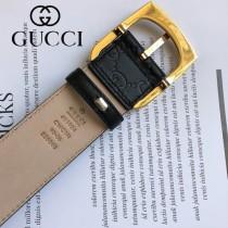 GUCCI皮帶-08-02  古馳原單牛皮壓G面皮帶