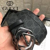 GUCCI皮帶-01-01  古馳原單雙色扣皮帶
