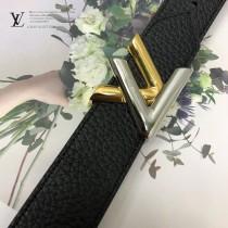 LV皮帶-5-01  路易威登原單優雅風格皮帶