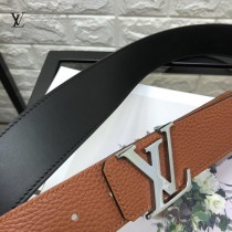 LV皮帶-2-03  路易威登原單雙面腰帶4D搭扣皮帶