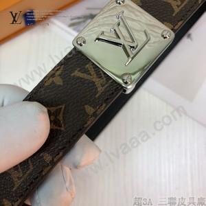 LV皮帶-4-02  路易威登原單優雅風格皮帶
