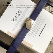 BURBERRY皮帶-1-02  巴寶莉原單牛皮平紋皮帶