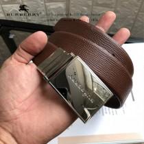 BURBERRY皮帶-1-04  巴寶莉原單牛皮平紋皮帶
