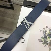 LV皮帶-2-04  路易威登原單雙面腰帶4D搭扣皮帶