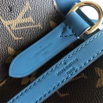 LV-M44020-01  路易威登原版皮牛仔藍手袋