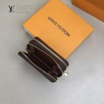 LV-M58106-04   路易威登原版皮多功能雙拉鑰匙包