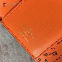 LV-M63889-01   路易威登原版皮短款錢夾