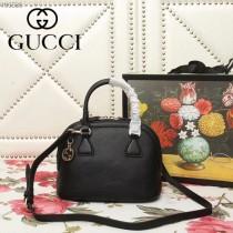 GUCCI-449661-06   古馳新款原版皮貝殼包