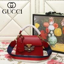 GUCCI-476541-08   古馳新款原版皮手提斜背包