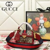 GUCCI-476543-01   古馳新款原版皮手提斜背包
