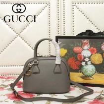 GUCCI-449661-04   古馳新款原版皮貝殼包