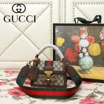 GUCCI-476543-02   古馳新款原版皮手提斜背包