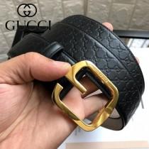 GUCCI 古馳 原單頭層牛皮壓G面-01