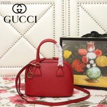 GUCCI-449661-03   古馳新款原版皮貝殼包