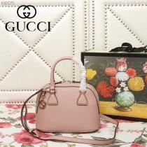 GUCCI-449661-01   古馳新款原版皮貝殼包
