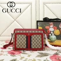 GUCCI-523354-02   古馳新款原版皮斜挎手提包