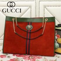 GUCCI-537218-01   古馳新款原版皮購物袋