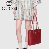 GUCCI-524578-01   古馳新款原版皮手提單肩包
