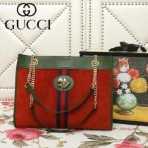 GUCCI-537220-03   古馳新款原版皮購物袋