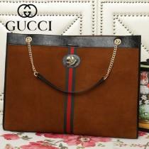 GUCCI-537218-03   古馳新款原版皮購物袋