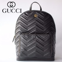 GUCCI-523405   古馳新款原版皮雙肩包