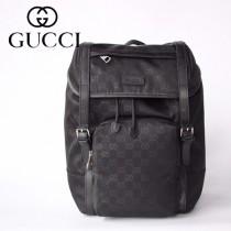 GUCCI-510336-02   古馳新款原版皮雙肩背包