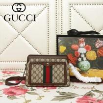 GUCCI-523355-01   古馳新款原版皮斜挎手提包
