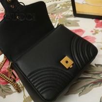 GUCCI-547260-03   古馳新款原版皮GG Marmont系列迷妳手提包