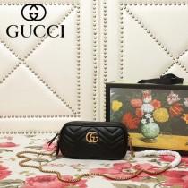 GUCCI-546581-02   古馳新款原版皮相機包