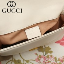 GUCCI-547260-02   古馳新款原版皮GG Marmont系列迷妳手提包