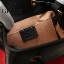 GUCCI-550621-03   古馳新款原版皮水桶包