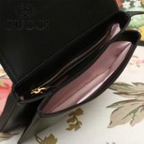 GUCCI-550129-04   古馳新款原版皮斜背包