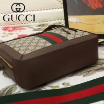 GUCCI-550622-02   古馳新款原版皮斜挎手提包