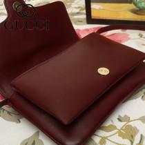 GUCCI-550129-01   古馳新款原版皮斜背包
