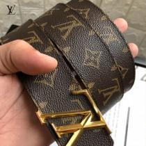 lv 字母扣腰帶采用雙面設計-006