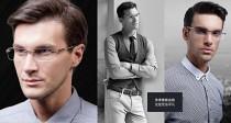 店主推薦萬寶家眼鏡框MB349熱銷經典款 男士商務高檔鈦合金鏡架可配近視無框