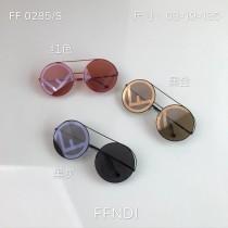 2300 原單 芬家太陽鏡墨鏡男女圓框2018新款 FD Runaway大型太陽眼鏡 FF0285-S系