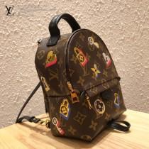 M44367原版皮 情人節限定版最新徽章系列 迷妳背包