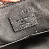 M44347 原版皮 黑色   拉鏈Tote手袋