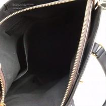 M44351 原版皮黑色 拉鏈Tote手袋