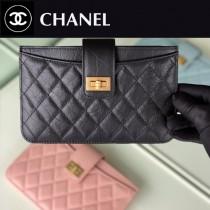 CHANEL 原版皮  新款零錢卡包-01