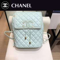 CHANEL 原版皮-01 Chanel 春夏新款SS pre collection CClogo雙肩背包
