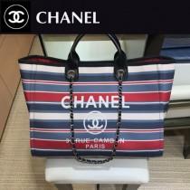 CHANEL 原版皮  巴黎漢堡系列 沙灘包-03