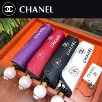 CHANEL雨傘-10 新款自動雨傘 山茶花搭配经典的香奈儿LOGO 完美的搭配 深入人心 珍珠球手柄