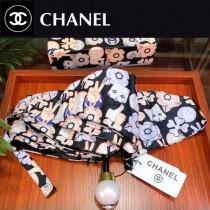 CHANEL雨傘-11 CHANEL 香奈兒五折口袋傘